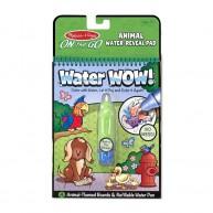 Melissa & Doug vízzel kiszínezhető füzet állatos Water WOW! 4 képes 5376