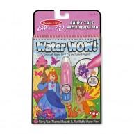 Melissa & Doug vízzel kiszínezhető füzet mesevilág Water WOW! 4 képes 9415