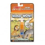 Melissa & Doug vízzel festhető színező Safari Water WOW! 4 képes 9441