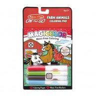 Melissa & Doug varázslatos színezőfüzet 4 mágikus tollal Farmos 9126