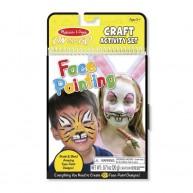 Melissa & Doug arcfestő készlet útmutatóval 9439