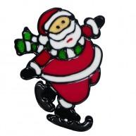 IMP-EX karácsonyi ablakzselé dísz mikulás 2660C