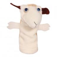 Puppet World ujjbáb fehér bárány 2512