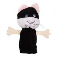 Puppet World ujjbáb fekete macska 2501
