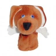 Puppet World plüss ujjbáb vizsla kutya 3295