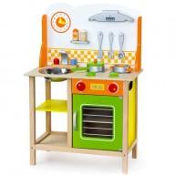 Viga játékkonyha - zöld-narancssárga  4234