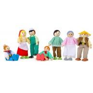 Legler tanyasi játék babacsalád szerepjátékhoz 7 fős 10046