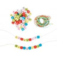 Legler 300db-os betűs gyöngyök nyaklánc és karkötő készítéshez 10712