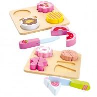 Legler fa szeletelhető játék sütemények 5851