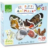 Vilac fa mágnesek dobozban - állatok 20db-os 8644