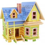 Legler fa 3D puzzle építő - Amelia háza F403S