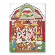Melissa & Doug pufimatrica készítő könyv farmos 9408
