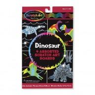 Melissa & Doug képkarc dinoszauroszos 5917