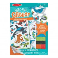 Melissa & Doug glitteres pufi matrica készítő 8205