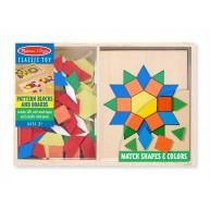 Melissa & Doug mozaik készségfejlesztő 120 darabos 10029
