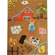 IMP-EX kalapálós mozaik kirakó farmos 4464