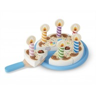Melissa & Doug fa szeletelhető játék szülinapi torta 511