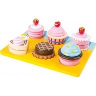 Legler fa muffin készítő szett 6db süteménnyel 10149