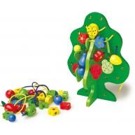 Legler fűzőcskés játék gyümölcsfa 8168