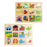 IMP-EX Felező puzzle, 2db 3249