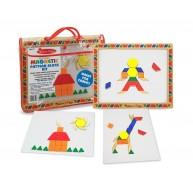 Melissa & Doug mágneses mozaik kirakós kászségfejlesztő játék 3590