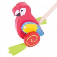 BIGJIGS tologatós fajáték - Papagáj BB136