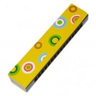 IMP-EX szájharmonika sárga konfettis 1816O