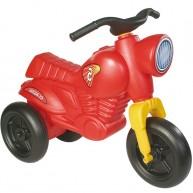 Lábbal hajtható erős műanyag motor gyerekeknek Classic 5 - piros 151