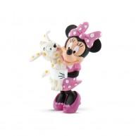 Bullyland Mickey Mouse Clubhouse - Minnie egér figura kiskutyájával 15329