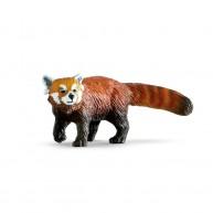 Bullyland vörös panda játékfigura 63694