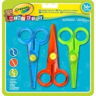 Crayola Mini Kids ollókészlet - 3 fajta   81-8119