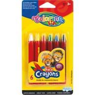 Colorino Kids arcfestő ceruzák 6db-os 32629