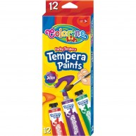 Colorino Kids tempera festéshez 12 szín 68420