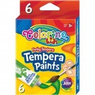 Colorino Kids tempera 6x12ml 68390