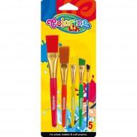 Colorino Kids ecset készlet 5db-os 39062