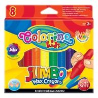 Colorino Kids zsírkréta vastag a kis kezeknek 8db 34746