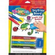 Colorino Kids filctollak törölhető táblával 65795