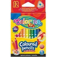 Colorino Kids mini háromszögű 12db-os színes ceruzakészlet  33077PTR