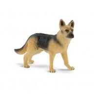 Bullyland németjuhász kutya Rex játékfigura 65448