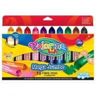 Colorino színes JUMBO filctoll Mega 10 db-os 32124