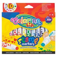 Colorino nyomdás filctoll 10db 34623