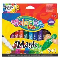 Colorino változó színű filctoll 9+1db 34630