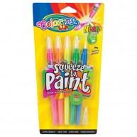 Colorino ecsetvégű filctoll Neon színek 5db 32148