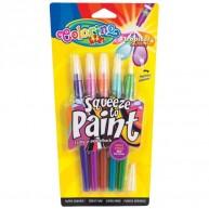 Colorino ecsetvégű filctoll Trópusi színek 5db 32155