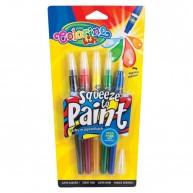 Colorino ecsetvégű filctoll Basic színek 5db 15813