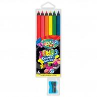 Colorino Kids  NEON Jumbo 6db-os színes ceruzakészlet 34654PTR