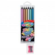 Colorino Kids Metallic JUMBO 6 darabos ceruza készlet  34661PTR