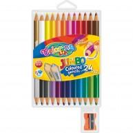 Colorino Kids kerek 12db-os színes ceruzakészlet 24 színnel   51736PTR