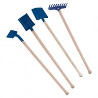 Kertészkedős eszközök gyerekeknek kék 70cm-es nyéllel 0460-K