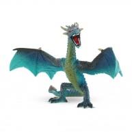 Bullyland Repülő sárkány , türkiz színű játék figura  BUL-75592
